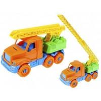 Автомобиль Добрыня Пожарная Оранжевый 20см И-3334