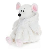 Мышка Мила в Белой Шубке, 21 см MT-MRT021922-21